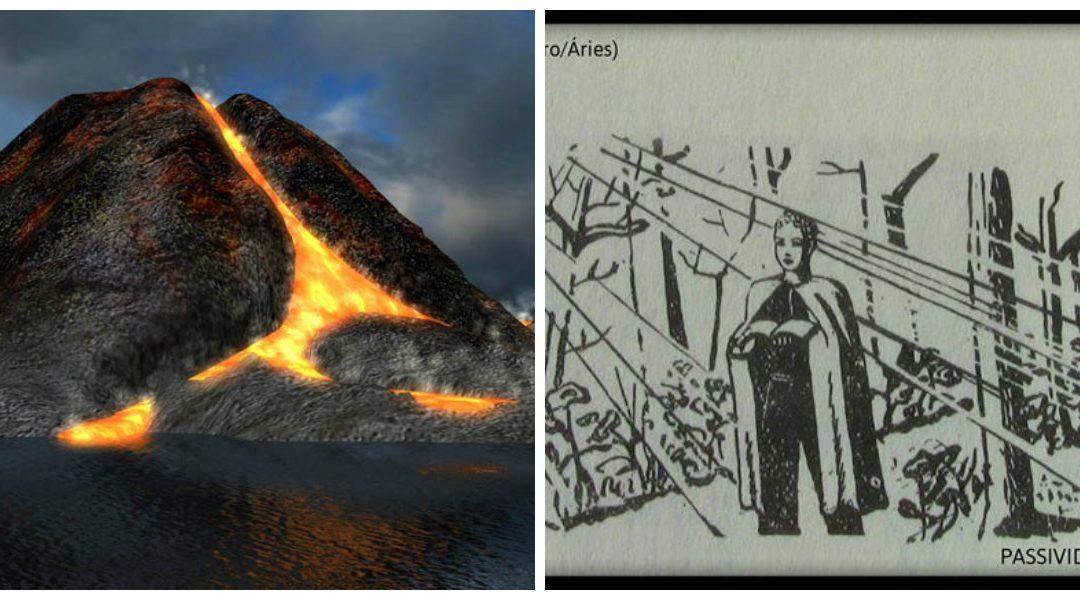 Graus 16 a 20 de Vulcão – ou Carneiro/ Áries