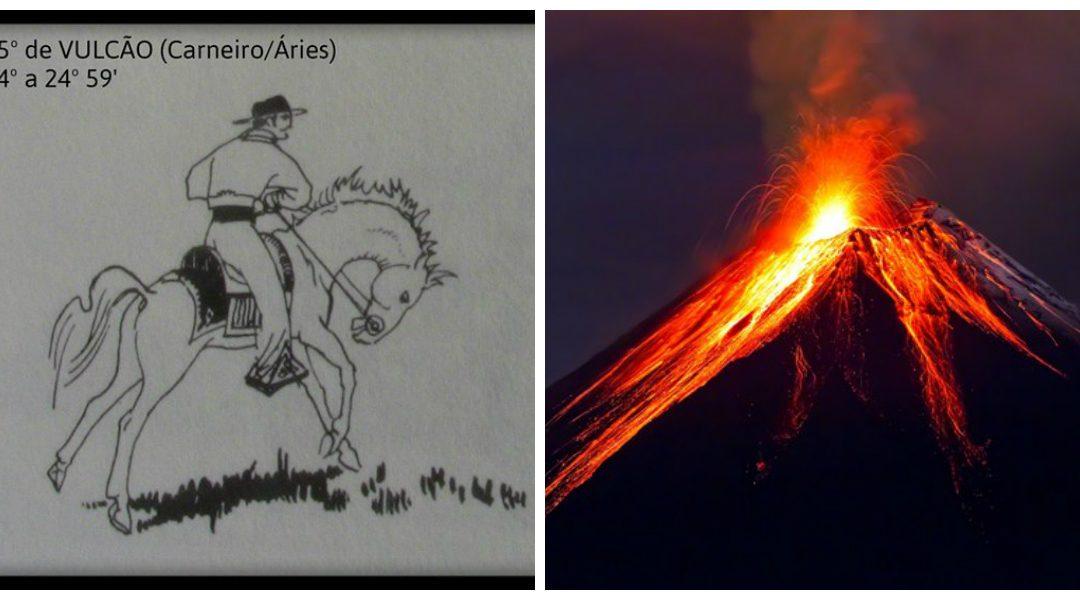 Graus 21 a 25 de Vulcão – ou Carneiro/ Áries