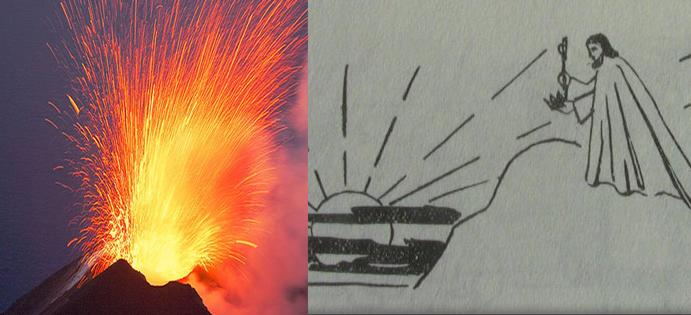 Graus 11 a 15 de Vulcão – ou Carneiro/ Áries