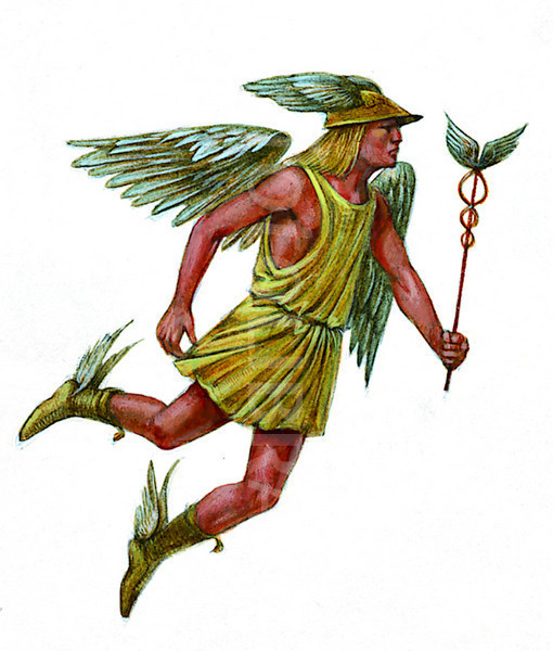 ROMAN GOD MERCURY