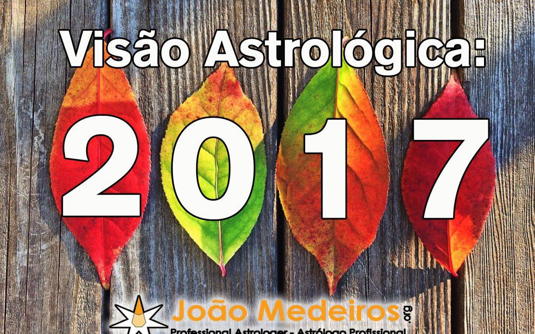 O Ano 2017 – Visão Astrológica